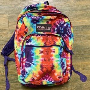 Jansport Trans Rainbow Tie-Die Backpack Bag